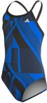 adidas Girls' Sport DNA Vortex Back One Piece Swimsuit 8150195