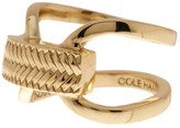 Cole Haan Looped Band Basket Etched Ring - Size 7