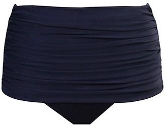 Miraclesuit Norma Shirred Hi-Rise Bikini Bottom