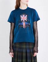 Junya Watanabe Britannia semi-sheer T-shirt