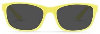 Dresden Vision Daffodil Yellow UV Protected Polarised Sunglasses with Grey Tint