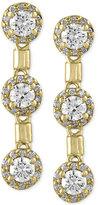 Effy Final Call Diamond Trio Drop Earrings (1-1/5 ct. t.w.) in 14k Gold