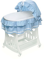 Badger Basket Portable 2-in-1 Bassinet and Cradle with Toy Box Base