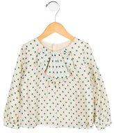 Chloé Girls' Silk Printed Top