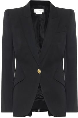 Alexander McQueen Virgin-wool blazer