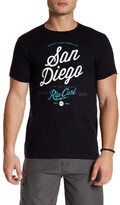 Rip Curl Short Sleeve Front Graphic Print Tee