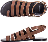 Pierre Hardy Leather gladiator sandals
