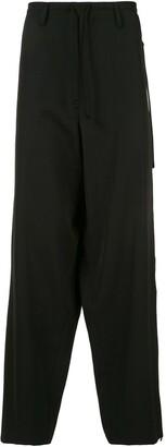 Yohji Yamamoto Drawstring-Waist Trousers