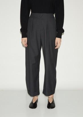 La Garçonne Moderne Wool Army Trouser