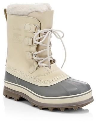 Sorel Caribou Faux Fur Waterproof Boots
