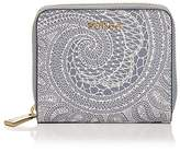 Furla Babylon Zip Around Lace Print Small Leather Wallet