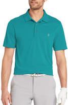 Izod Golf Champion Grid Short Sleeve Polo Shirt