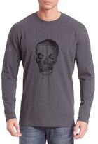Robert Graham Bandits Skull Embroidery T-Shirt