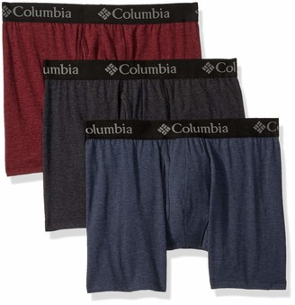 Columbia Men's Performance Cotton Stretch Boxer Brief-3 Pack