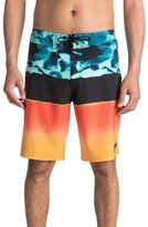 Quiksilver Men's Blocked Resin Board Shorts