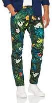 G Star Men's 5622 Elwood X25 Jeans by Pharrell Williams In Aloha