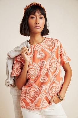 Eri + Ali Coralie Embroidered Blouse