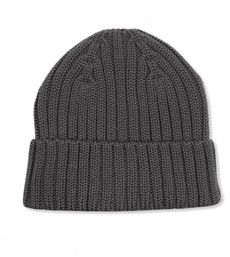 Woolish Takashi Merino Beanie Grey Rock