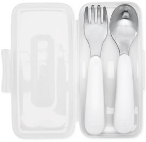 OXO On-The-Go Fork & Spoon Set