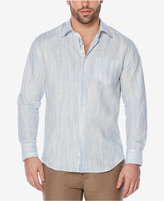 Cubavera Men's Space-Dye Linen Shirt