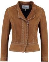 Derek Lam 10 Crosby Leather jacket khaki