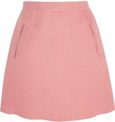 Valentino Linen mini skirt