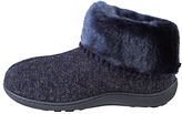 totes Pillowstep Fine Knit Boot Slippers, Navy
