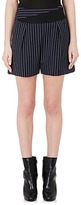 Lanvin Women's Pinstriped Wool Shorts