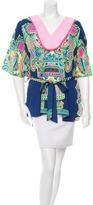 Mara Hoffman Silk Printed Tunic
