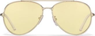 Prada Decode aviator sunglasses