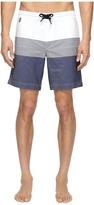 Z Zegna Striped Boardshorts Men's Swimwear