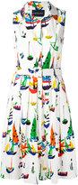 Samantha Sung 'Audrey' dress - women - Cotton/Spandex/Elastane - 6