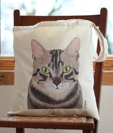 Bird Tabby Cat Handy Bag