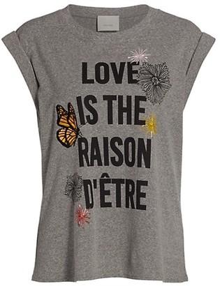 Cinq à Sept Love Is The Reason Bella T-Shirt