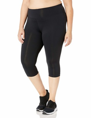 Rainbeau Curves Women's Plus Size Premier Basix Nylon Capri