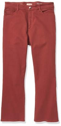DL1961 Women's Bridget High Rise Crop Bootcut Fit Jeans