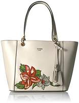 GUESS Kamryn Embroidered Tote
