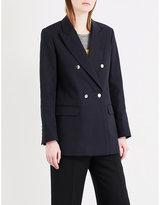 Sandro Oversized cotton blazer