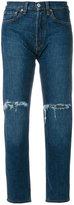 Levi's Embellished denim jeans