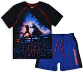 Disney Boys Star Wars 2 Piece Set Boys Short Sleeved T Shirt And Shorts