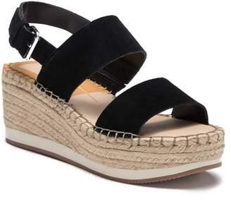 Dolce Vita Maggie Platform Espadrille Wedge Sandal