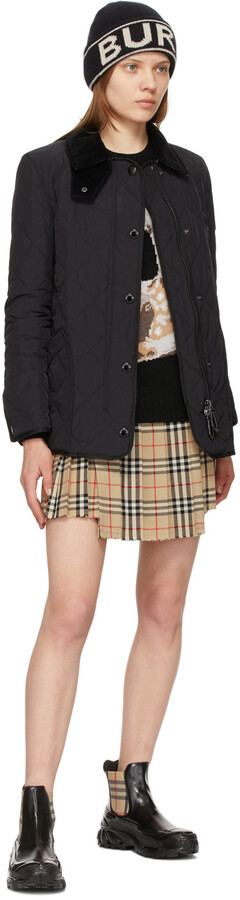 Thumbnail for your product : Burberry Navy Quilted Cotswold Jacket