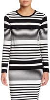 Trina Turk Ana Long Sleeve Stripe Blouse
