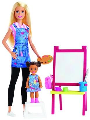 Barbie Art Teacher Doll and Play Set