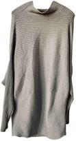 Designers Remix Grey Cotton Dress for Women