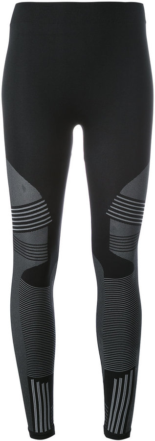 Barbara I Gongini striped pattern leggings