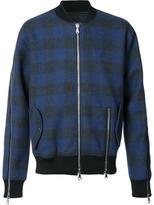 Mostly Heard Rarely Seen plaid bomber jacket - men - Cotton - S