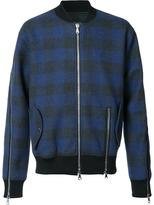 Mostly Heard Rarely Seen plaid bomber jacket - men - Cotton - XXL