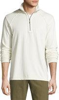 Tommy Bahama Quarter-Zip Stretch-Knit Jacket, Coconut Cream