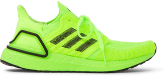 Adidas Sport Ultraboost 20 Rubber-Trimmed Primeknit Running Sneakers